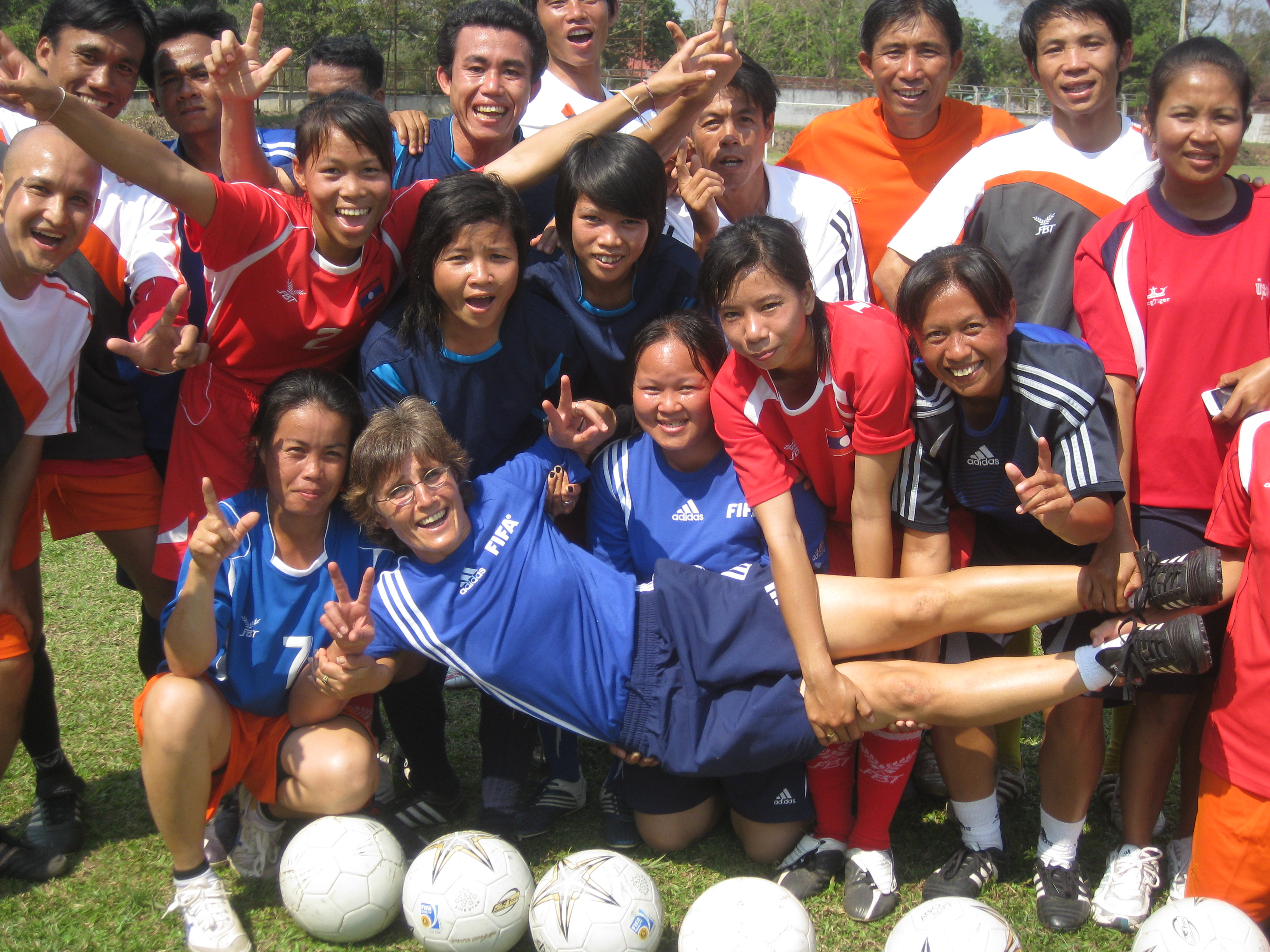Trainerinnenkurs in Laos 2010