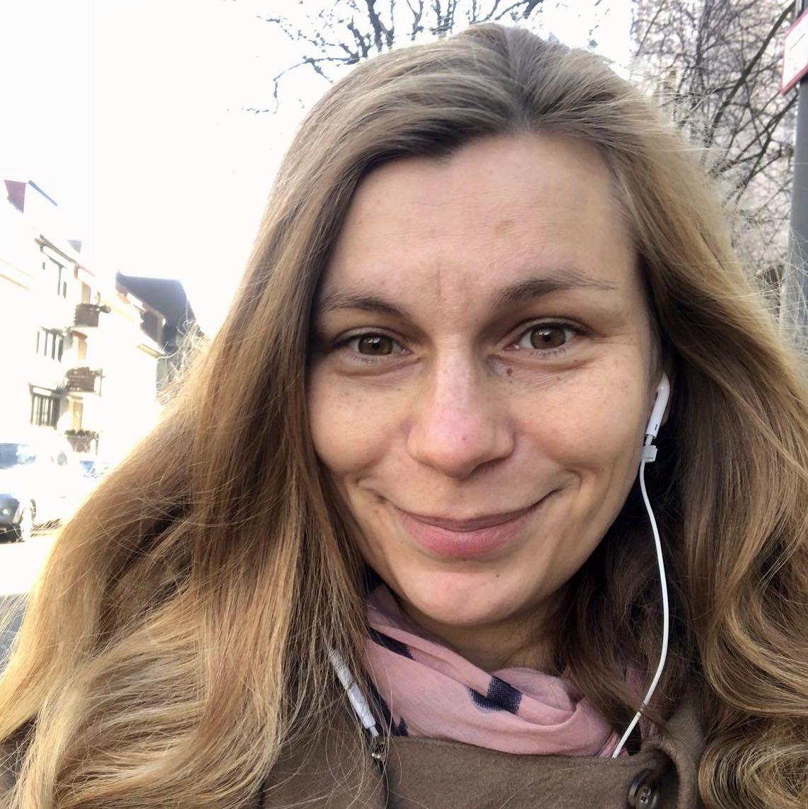 Friederike Baudisch vom FRÜF-Podcast