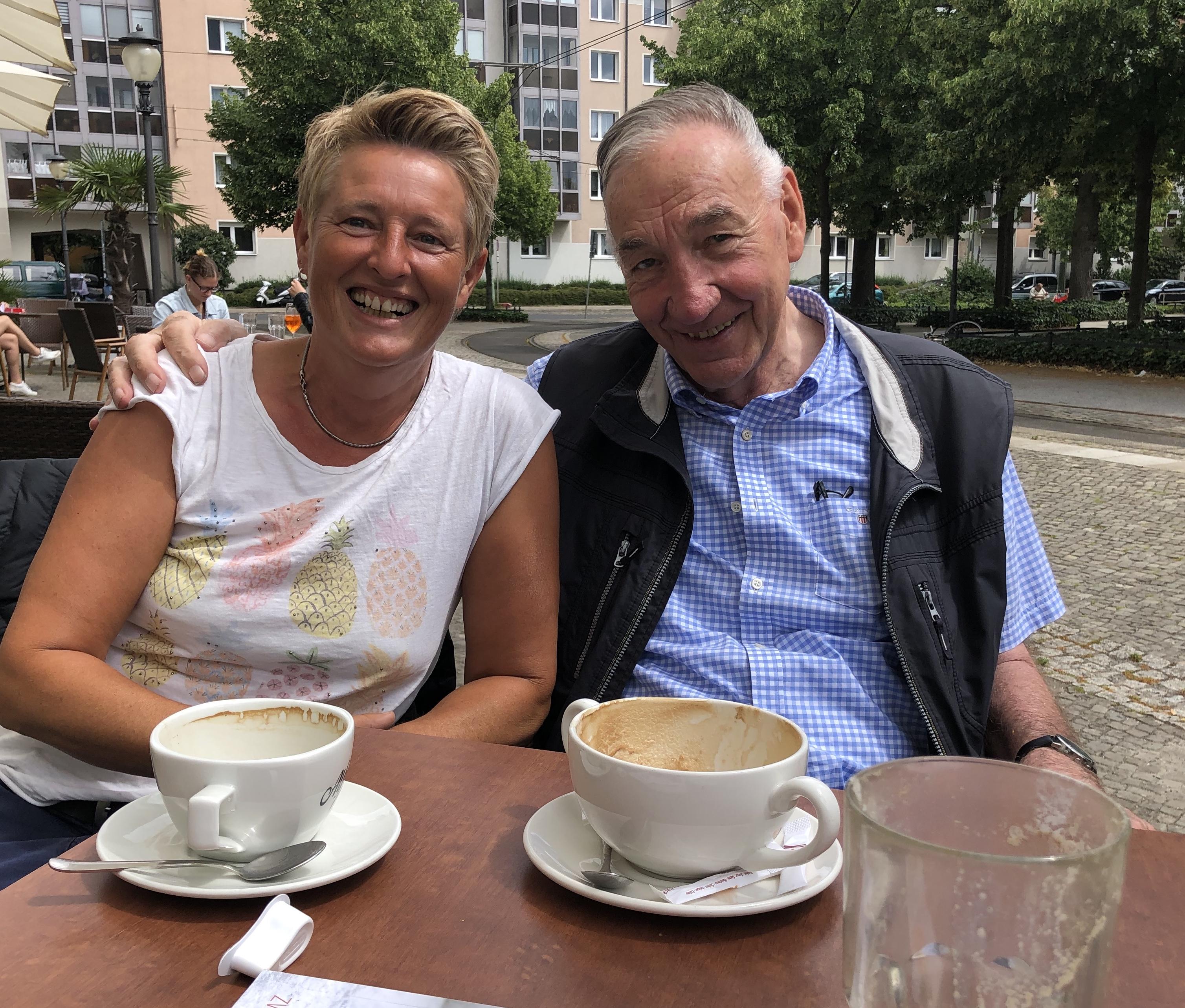 Die GästInnen: Doreen Meier und Bernd Schröder heute