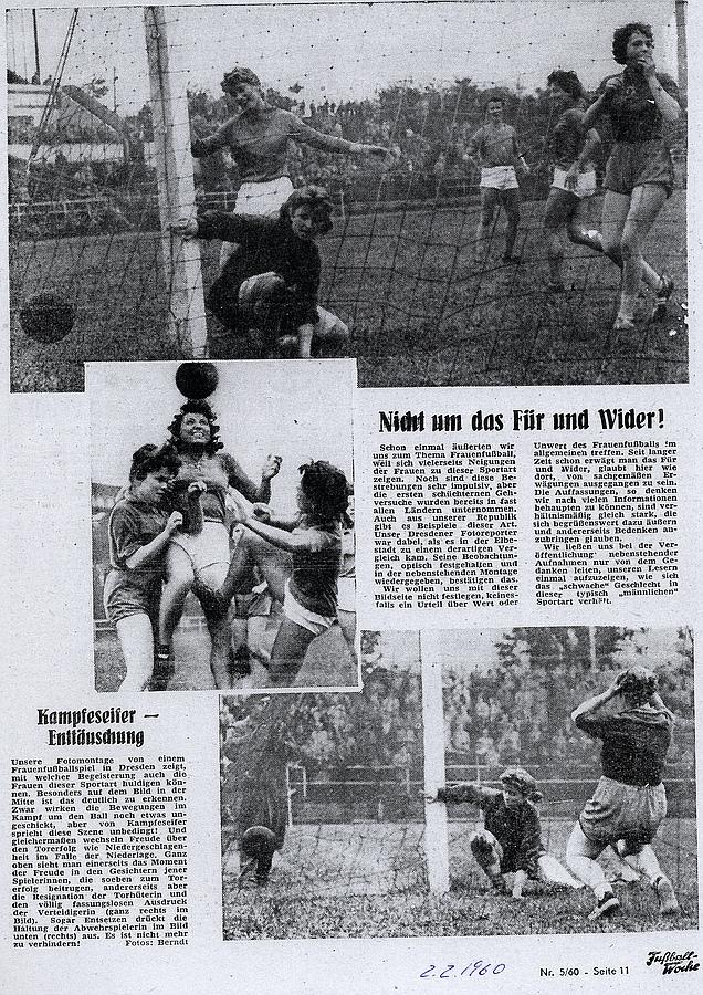 Fußballwoche vom 02. Februar 1960