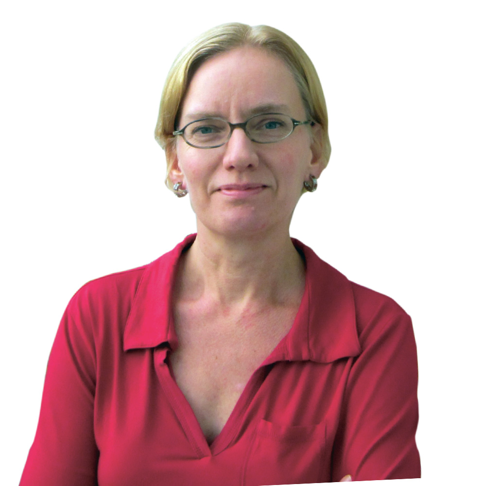 Nicole Sellmer vom FRÜF-Podcast